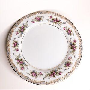 Vintage Noritake Somerset Floral Porcelain Plate